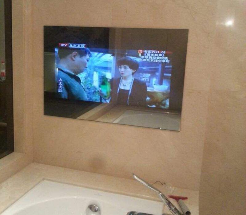 摩卡思42寸防水镜面电视