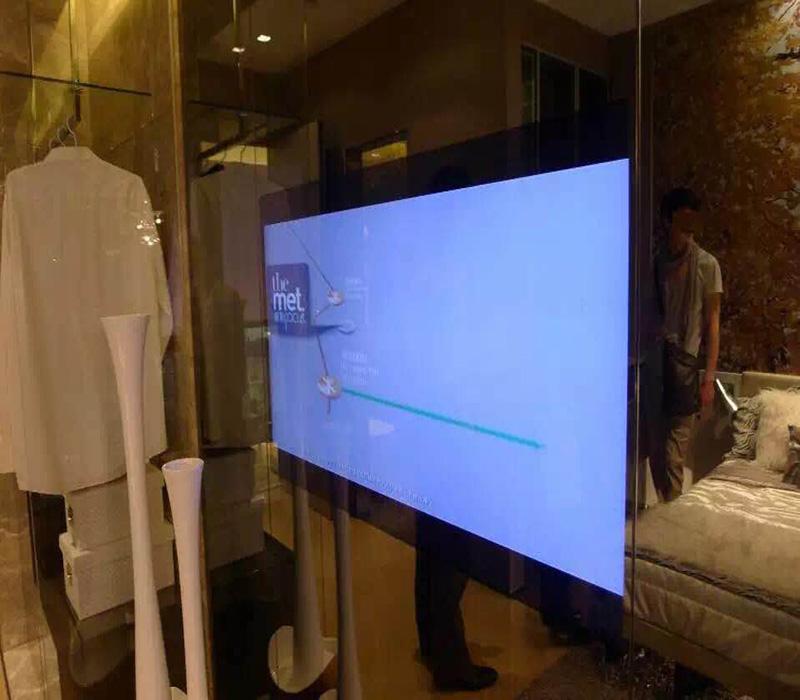 摩卡思65寸防水镜面电视