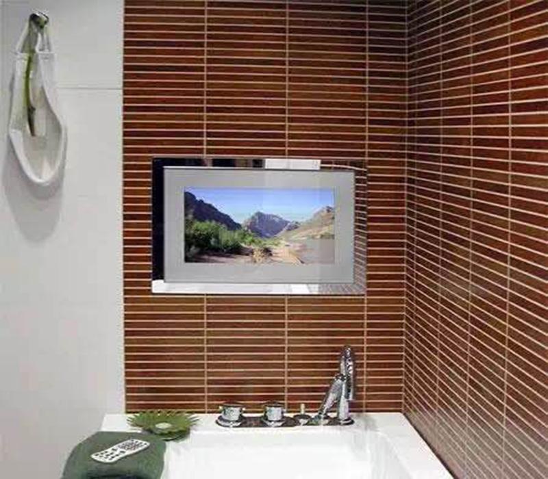 摩卡思22寸防水镜面电视